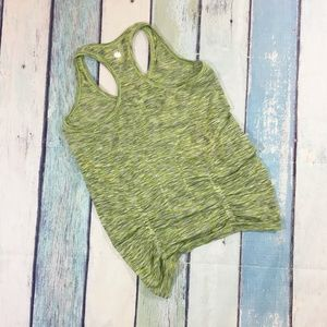 Athleta Space Dye Fastest Track Ruched Tank Top M